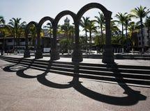 EL Malecon Puerto Vallarta México de los arcos Fotografía de archivo libre de regalías