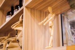 El maniquí de madera Fotografía de archivo libre de regalías