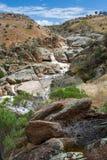 El Mannum remoto baja en sur de Australia el 15 de octubre de 2009 Imágenes de archivo libres de regalías