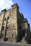 El mantiene del castillo Imagen de archivo