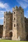 El mantiene en el castillo de Alnwick Imagenes de archivo