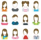 El maquillaje de las mujeres y la colección del icono de la moda fijaron 2