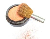 El maquillaje, se ruboriza Foto de archivo libre de regalías