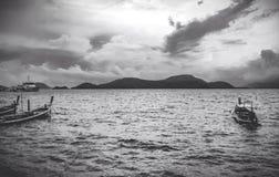 El mar ancho Imagen de archivo