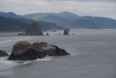 El mar apila A Foto de archivo libre de regalías