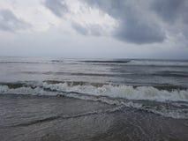 El Mar Arábigo Kerala Imagenes de archivo