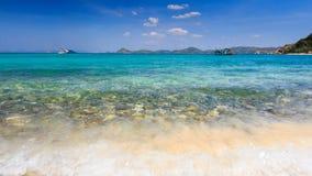 El mar azul Imagenes de archivo