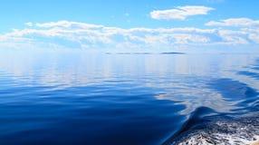 El mar blanco Imagen de archivo libre de regalías