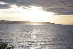 El mar croata Imagen de archivo libre de regalías