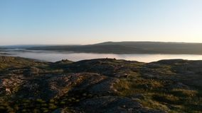 El mar de Barents Fotografía de archivo libre de regalías