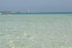 El mar de la ceja Trapan Sicilia Italia Europa del lo de San Vito Fotografía de archivo