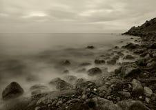 El mar de la noche Fotografía de archivo