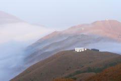 El mar de la nube Fotografía de archivo libre de regalías