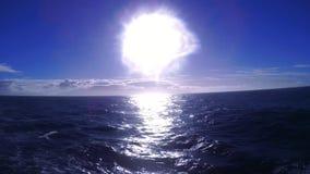 El mar de Ojotsk almacen de metraje de vídeo