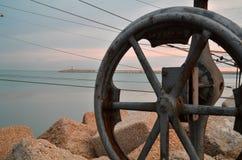 El mar del embarcadero Fotos de archivo libres de regalías