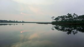 El mar del lago es el mejor natural imagen de archivo libre de regalías