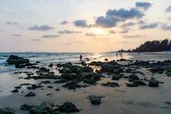 El mar del rayong easthern fotos de archivo