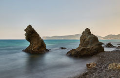 El mar del terciopelo - una foto 1 Foto de archivo