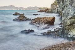 El mar del terciopelo - una foto 2 Imagen de archivo