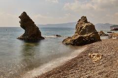 El mar del terciopelo - una foto 5 Foto de archivo libre de regalías