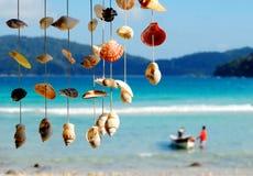 El mar descasca concepto del ocio de las vacaciones de verano Imágenes de archivo libres de regalías