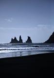 El mar empila Islandia Foto de archivo