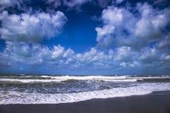 El mar en invierno Foto de archivo libre de regalías