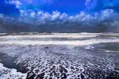 El mar en invierno Fotos de archivo libres de regalías