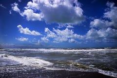 El mar en invierno Imágenes de archivo libres de regalías