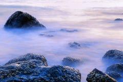 El mar en la niebla Fotografía de archivo
