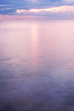 El mar en la salida del sol Imagen de archivo