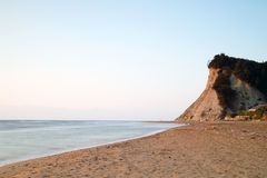 El mar fue fotografiado con la exposición larga Imágenes de archivo libres de regalías