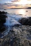 El mar hermoso Fotos de archivo