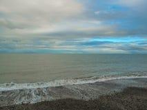 El mar irlandés Imagen de archivo libre de regalías