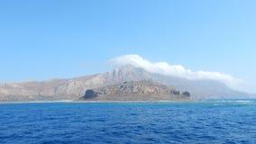 El mar Mediterráneo Fotos de archivo libres de regalías