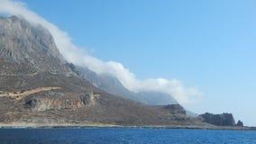 El mar Mediterráneo Foto de archivo