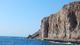El mar Mediterráneo Fotografía de archivo libre de regalías