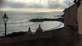El mar Mediterráneo en invierno metrajes