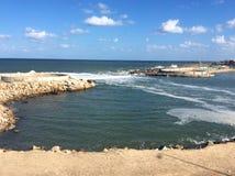 El mar Mediterráneo hermoso foto de archivo