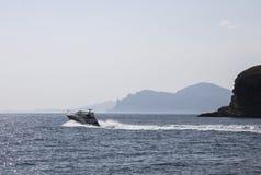 El Mar Negro hermoso crimea Fotografía de archivo libre de regalías