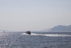 El Mar Negro hermoso crimea Foto de archivo libre de regalías