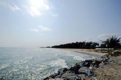 El mar y el cielo fotos de archivo libres de regalías