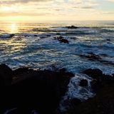 El mar y el sol Imagen de archivo