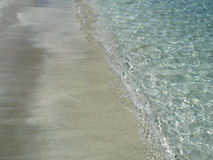 El mar y la arena Fotografía de archivo libre de regalías