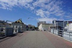 El mar y la ciudad vladivostok Rusia Fotos de archivo