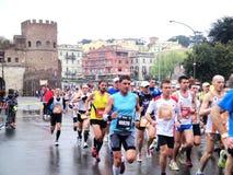 El Mararathon de Roma, el 23 de marzo de 2014, Italia Foto de archivo