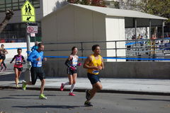 El maratón 2014 de New York City 133 Foto de archivo