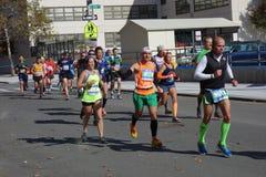 El maratón 2014 de New York City 210 Imagen de archivo