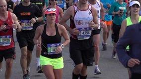 El maratón 2016 del TCS New York City 122 almacen de metraje de vídeo