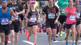El maratón 2016 del TCS New York City 123 almacen de video